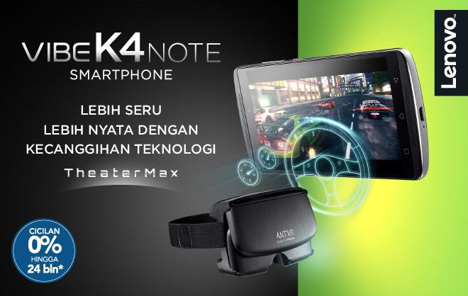 Lenovo K4 Note Telah Terjual Sebanyak Setengah Juta Unit di India