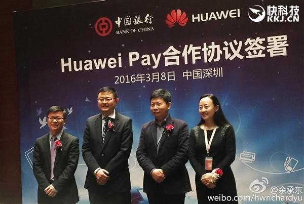 Huawei Pay Diluncurkan di China Untuk Jegal Samsung dan Apple Pay