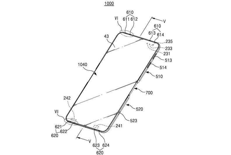 Lihat Paten Ponsel Lipat Terbaru dari Departemen R&D Samsung 1