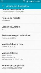 Marshallow Untuk Samsung Galaxy S5 Sudah Bisa Dirasakan di Trinidad dan Tobago 1