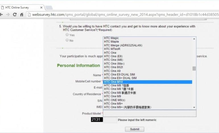 Nama HTC One M10 Dikonfirmasi, Sampel Jepretan Kamera Muncul ke Permukaan
