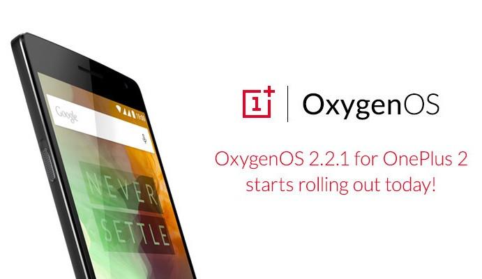 OnePlus 2 Terima Update OxygenOS 2.2.1