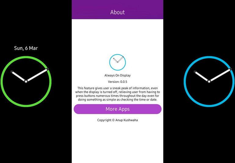 Pakai Aplikasi, Samsung Z3 Juga Bisa Punya Always-On Display