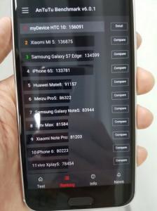 Percaya Atau Tidak, Benchmark HTC 10 Kalahkan Samsung Galaxy S7 Edge 2