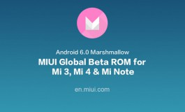 Xiaomi Mi 3, Mi 4 dan Mi Note Sudah Bisa Nyicip MIUI 7 Berbasis Android 6.0 Marshmallow