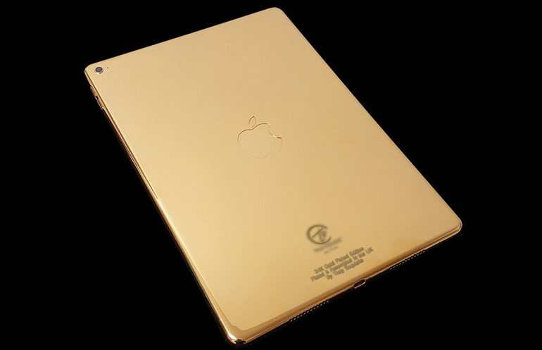 iPad Pro 9.7 Kurang Menarik? Coba Versi Premiumnya yang Berlapis Emas 24K