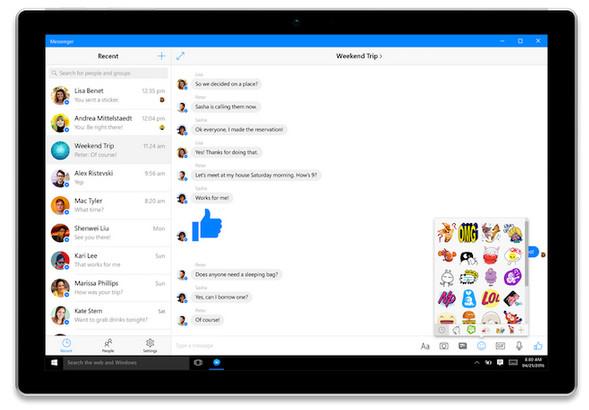Aplikasi Facebook dan Messenger Untuk Windows 10 Akhirnya Dirilis ke Publik 2
