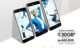 Data Hingga 30GB Diberikan Untuk Pembelian Samsung Galaxy A Series (A3, A5 & A7 2016)