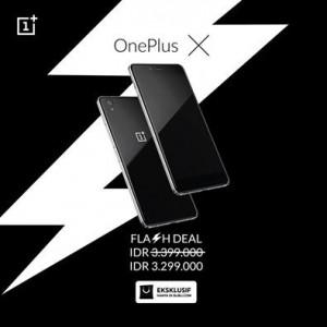 Flash Deal Kedua, Harga OnePlus X Lebih Murah 1