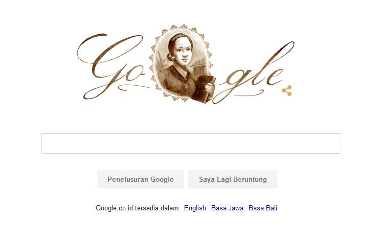Google Ingatkan Netizen Tentang Hari Kartini