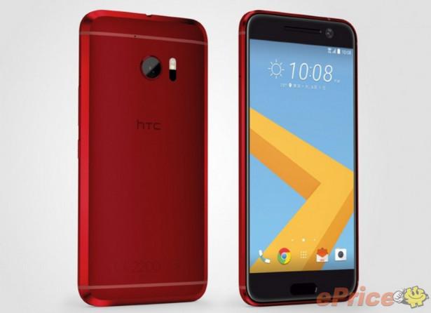 HTC 10 Warna Camillia Red Hadir Eksklusif di Jepang