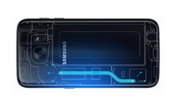 Ini Cara Kerja Sistem Pendingin Cair Samsung Galaxy S7 & S7 Edge