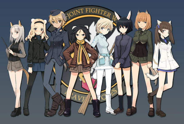 Intip Visual dan Staf Brave Witches