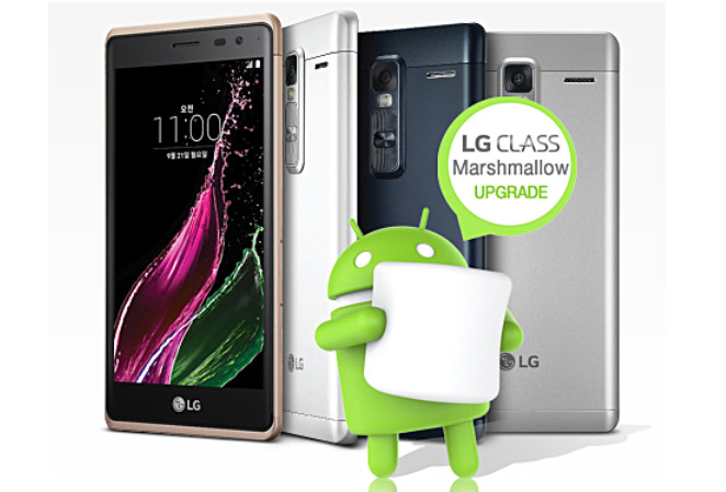 LG Class Dapatkan Update Android Marshmallow