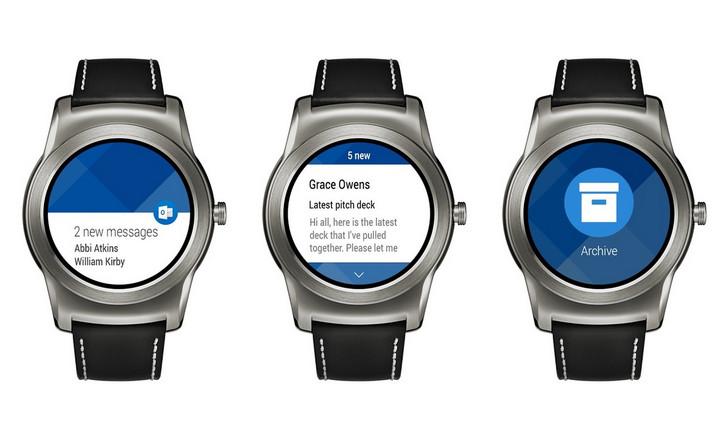 Microsoft Hadirkan Kembali Outlook di Platform Android Wear