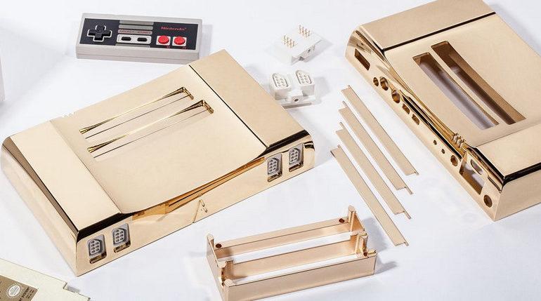 NES Edisi Terbatas Berlapis Emas 24 Karat Dijual Rp 65 Juta
