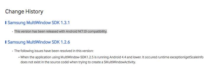 Samsung Ungkap Nomor Versi Android N