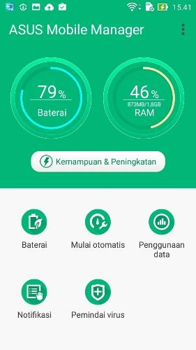 Mobile Manager Asus Zenfone 2 Laser ZE500KL