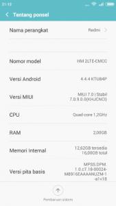 Informasi ponsel Xiaomi Redmi 2