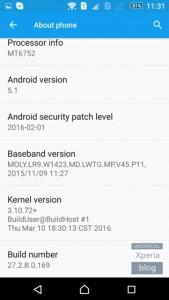 Sony Xperia C4 Dapatkan Update Minor
