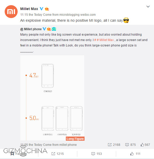 """Tidak Akan Ada Atribut """"Mi"""" di Sisi Depan Xiaomi Max 1"""