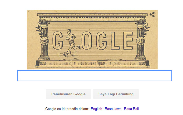 Google Peringati 120 Tahun Olimpiade Modern Pertama