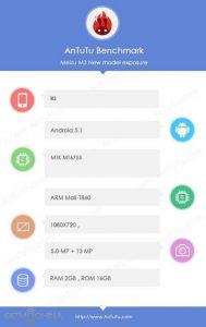 Wujud dan Spesifikasi Meizu M3 Terungkap 2
