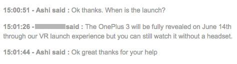 14 Juni Jadi Tanggal Peluncuran OnePlus 3