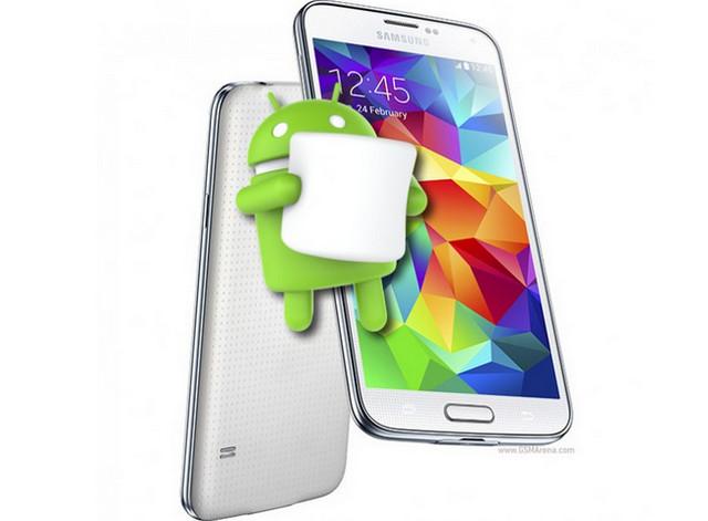Android Marshmallow Bergulir Untuk Samsung Galaxy S5 LTE-A