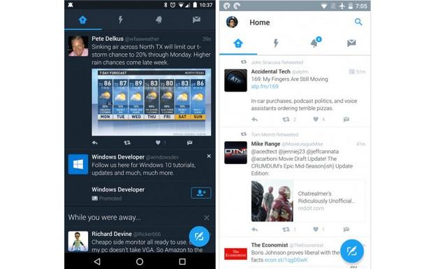 """Bakal Ada """"Siang dan Malam"""" di Twitter Versi Android"""