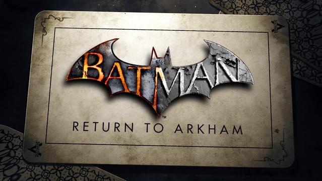 Batman Return To Arkham Rilis Juli Untuk Xbox One dan PlayStation 4
