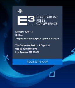 Catat! Sony E3 2016 Dilangsungkan 13 Juni