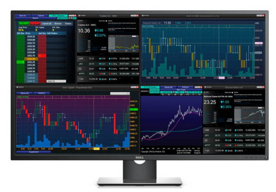 Dell Luncurkan P4317Q, Monitor Raksasa Dengan Layar 4K Seluas 43 Inci