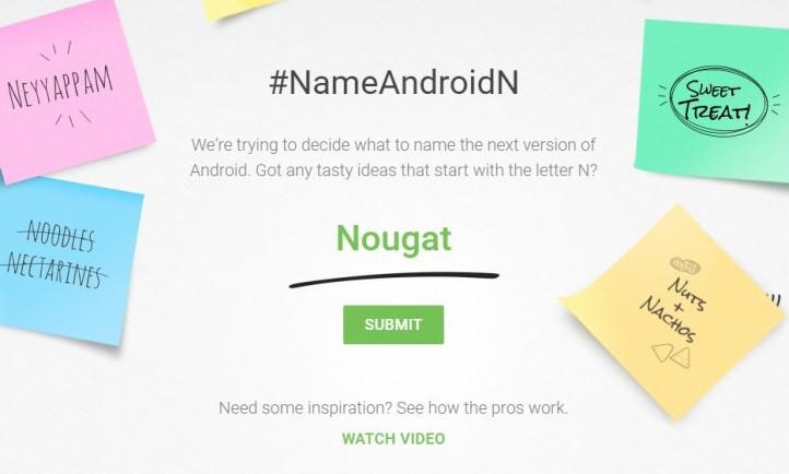 Google: Apa Nama Terbaik Android N?