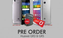 Huawei GR3 & GR5 Sudah Bisa Dipesan di Indonesia