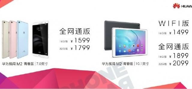 """Huawei MediaPad M2 7.0"""" Diumumkan"""
