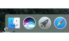 Intip Ikon Siri di Dermaga Mac