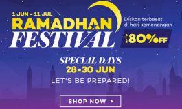 Lazada Sambut Bulan Penuh Berkah Dengan Ramadhan Festival, Diskon Hingga 80%