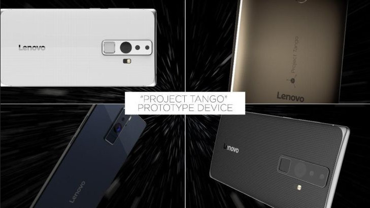Lenovo Ungkap Ponsel Project Tango 9 Juni Mendatang