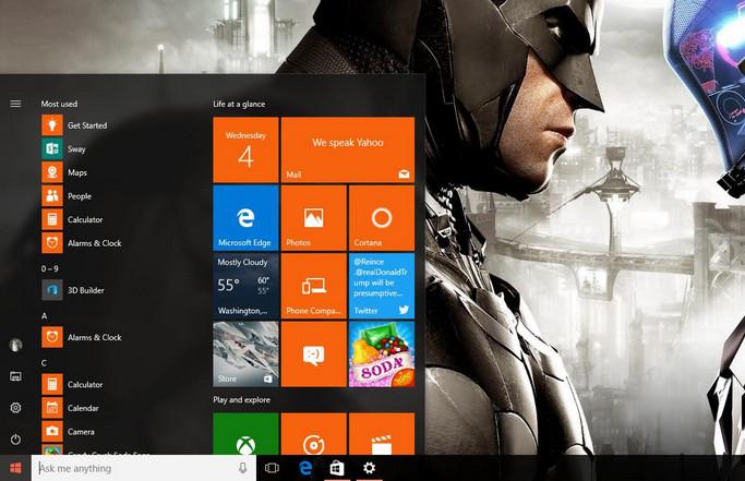 Menu Start Baru Windows 10 Tuai Kritikan Pengguna