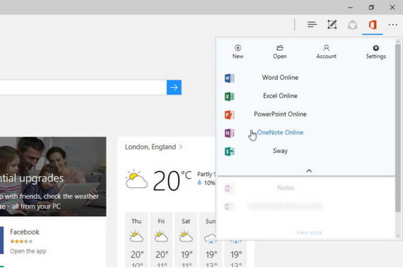 Microsoft Bikin Ekstensi Office Untuk Edge