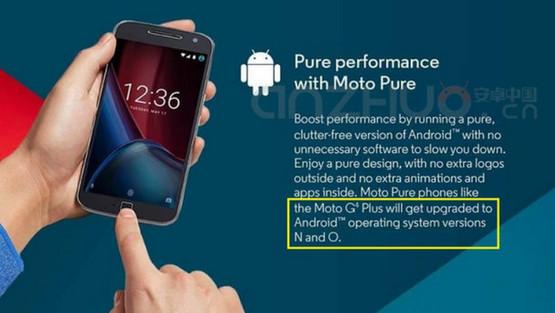 Motorola Janjikan Android O Untuk Moto G4 Plus
