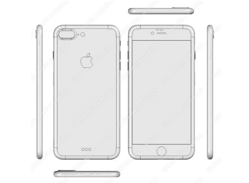 Munculnya Desain CAD iPhone 7 & 7 Plus 2