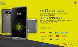 Pre-Order LG G5 SE Dibuka di Indonesia, Harga Rp 7,9 Juta