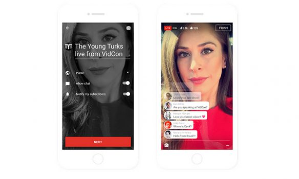 Aplikasi Youtube Kini Dukung Siaran Langsung