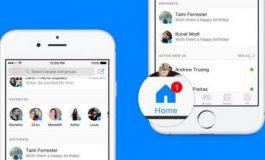 Homescreen Facebook Messenger Dirombak