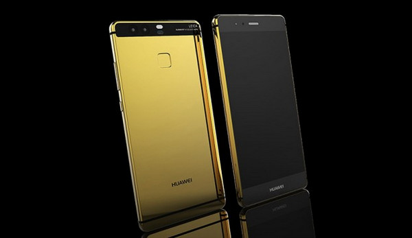 Huawei P9 Berlapis Emas Sudah Hadir di Inggris