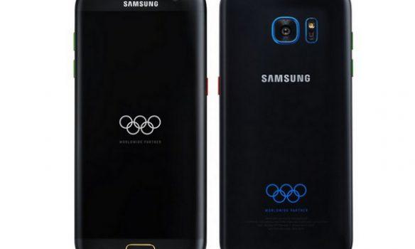 Inilah Wujud Samsung Galaxy S7 Edge Olympic Edition