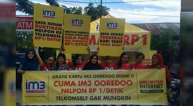 Seru! Indosat Sentil Tarif Mahal Telkomsel
