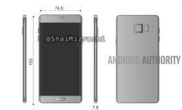 Terungkapnya Dimensi Samsung Galaxy Note 6 / 7